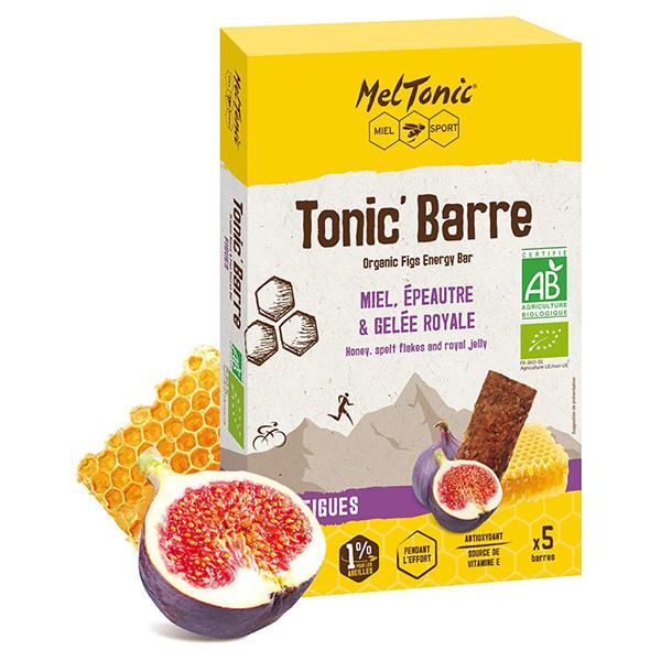 Meltonic - Pack Tonic' Barre Miel et Figues 5 x 25g