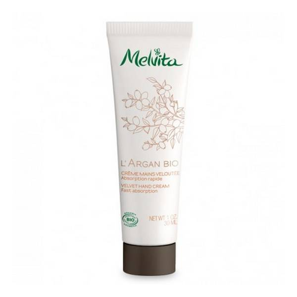 Melvita - Crème mains veloutée Argan 30ml