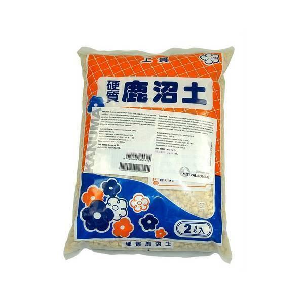 Mistral Bonsai - Substrat japonais Kanuma petits grains 2L