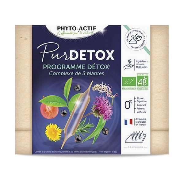 Phyto-Actif - Pur détox - 14 ampoules