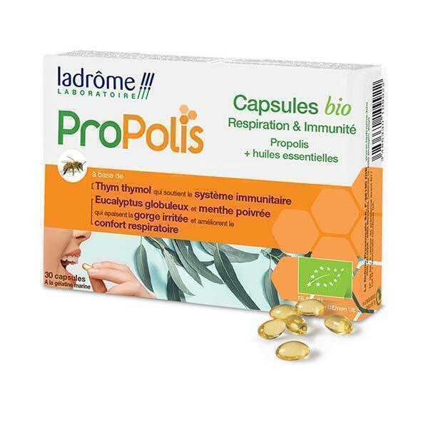 Ladrôme - Capsule respiration et immunité x 30 Capsules