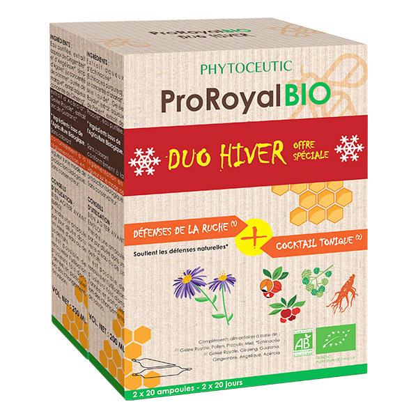ProRoyal BIO - Lot Hiver Défenses de la Ruche & Cocktail Tonique