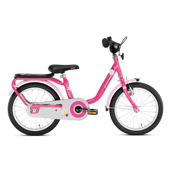"""Puky - Vélo STEEL 16"""" lovely pink - Dès 4 ans"""