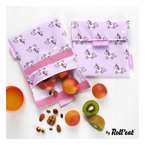 Unicorn boîte déjeuner pour les filles Unicorn Réutilisable Sandwich Sac Vegan friendly