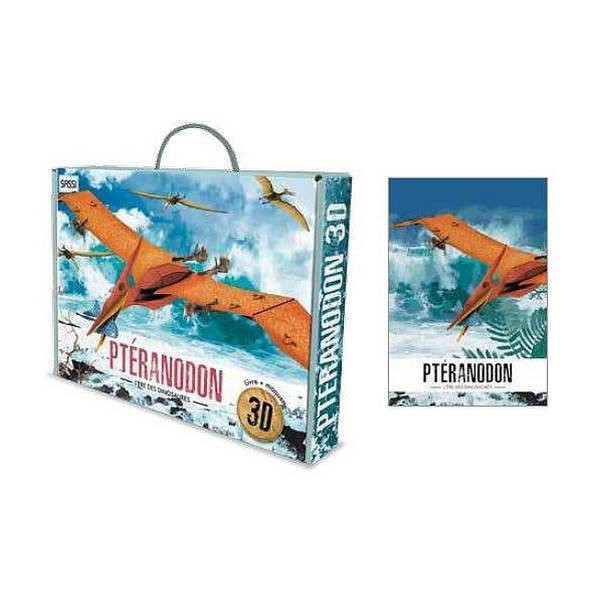 SASSI Junior - Ere des Dinosaures - Maquette Pteranodon 3D