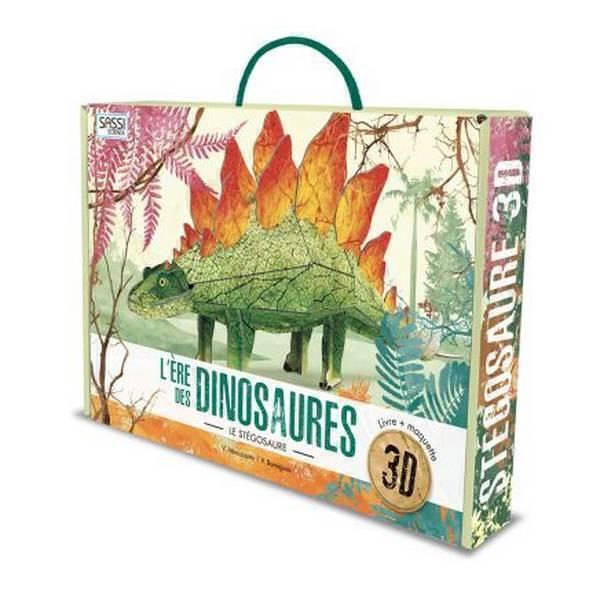 SASSI Junior - Ere des Dinosaures - Maquette Stegosaur 3D