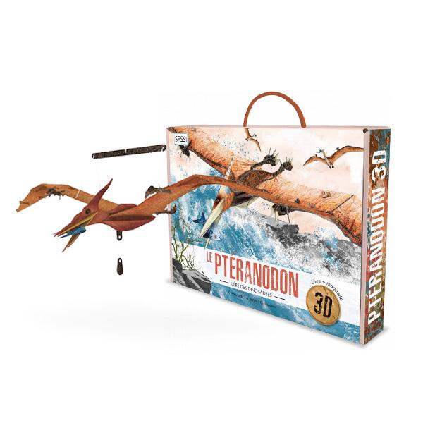 SASSI Junior - L'ère des Dinosaures - Maquette Ptéranodon 3D - Dès 6 ans