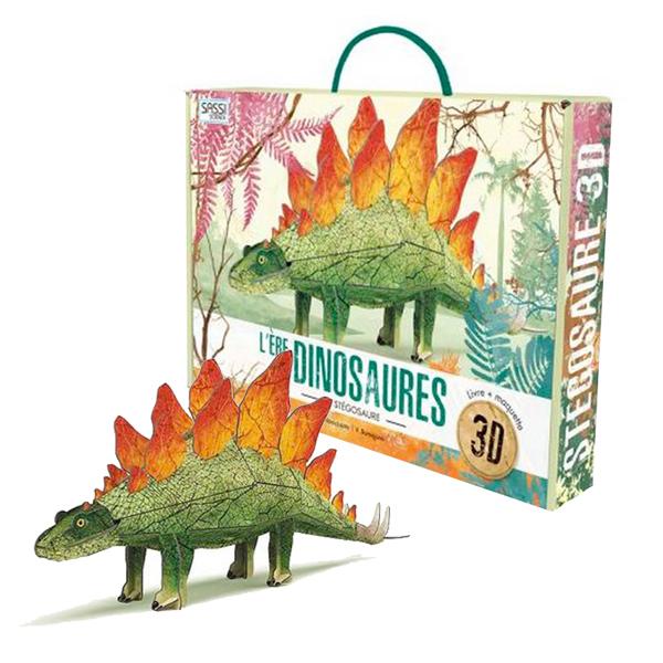 SASSI Junior - l'ère des Dinosaures - Maquette Stegosaur 3D - Dès 6 ans