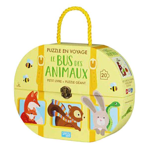 SASSI Junior - Puzzle en voyage : le bus des animaux - Dès 3 ans