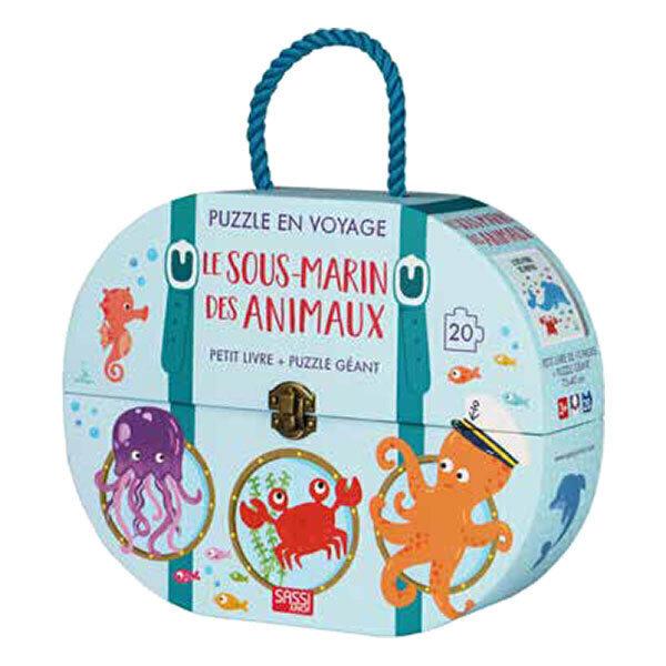 SASSI Junior - Puzzle en voyage : le sous-marin des animaux - Dès 3 ans