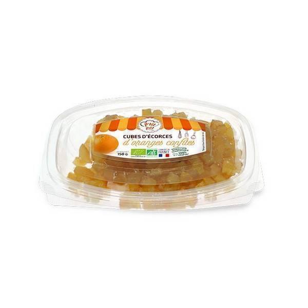 Senfas - Ecorces d'oranges confites en cubes 150g
