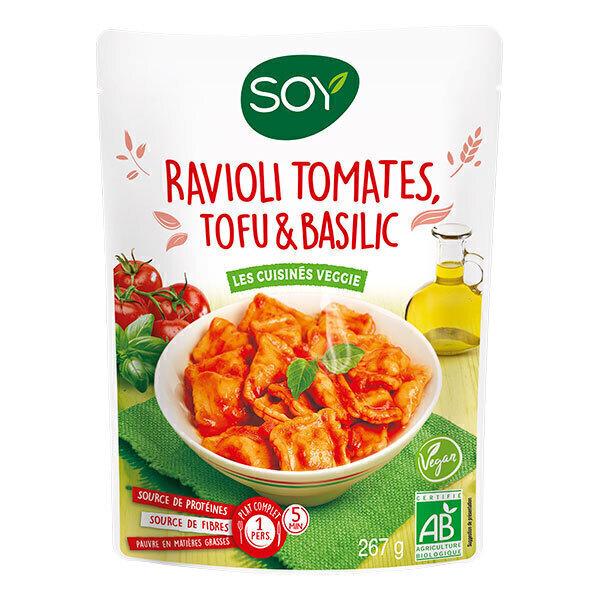 Soy - Ravioli Tomates Tofu & Basilic 267g