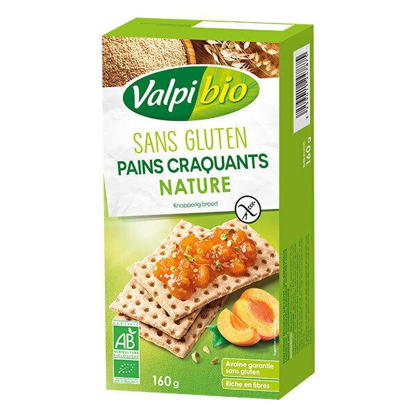 Valpibio - Pains craquants nature sans gluten 160g
