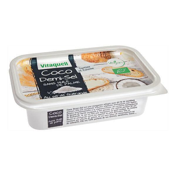 Vitaquell Frais - Margarine Coco Demi-Sel 250g