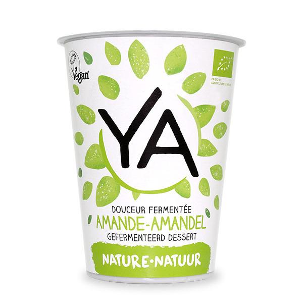 Ya - Douceur végétale fermentée Amande Nature 400g