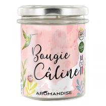 Aromandise - Bougie d'ambiance Caline 150g