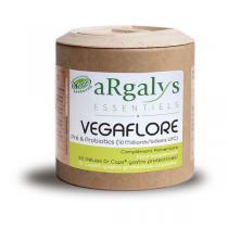 Argalys Essentiels - Vegaflore Pré et Probiotiques 60 gélules