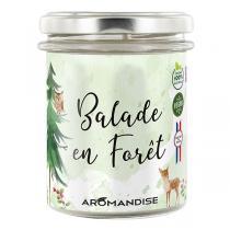 Aromandise - Bougie Balade en Forêt 150g