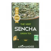 Aromandise - Thé vert Sencha x18 infusettes