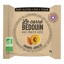 Bedouin - Carré aux fruits secs Amande & Abricot 35g