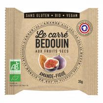 Bedouin - Carré aux fruits secs Amande & Figue 35g