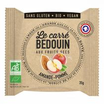 Bedouin - Carré aux fruits secs Amande & Pomme 35g