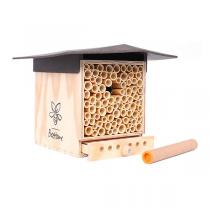 BeeHome - Abri pour abeilles sauvages Observer Chocolat