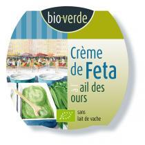 Bio Verde - Crème de Feta à l'ail des ours 125g