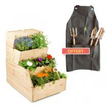 Easy Jardin - Potager composteur Easy Jardin 500 et outils offerts