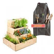 Easy Jardin - Potager composteur Easy Jardin 800 et outils offerts