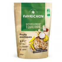 Favrichon - Muesli céréales toastées fruits exotiques 350g