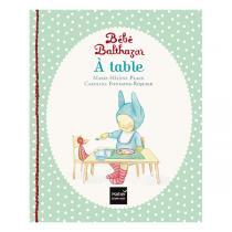 Hatier Jeunesse - A table - Pédagogie Montessori - dès la naissance