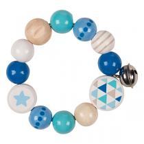 Heimess - Hochet élastique avec étoile bleu