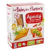 Le pain des fleurs - Pain des fleurs Tartine tomate paprika 150g