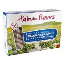 Le pain des fleurs - Pain des fleurs Tartine sarrasin sans sel 300g