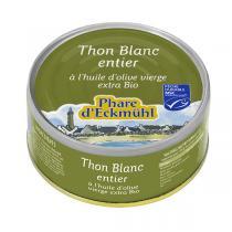 Le phare d'Eckmuhl - Thon blanc à l'huile d'olive 80g