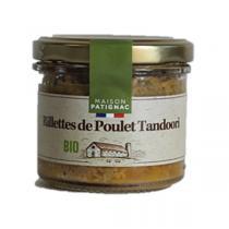 """Maison Patignac - Rillettes de Poulet Tandoori """"La Délicieuse"""" 90g"""