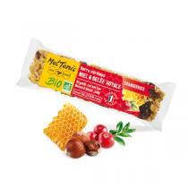 Meltonic - Lot de 5 barres de céréales Miel Gelée Royale Cranberries 30g