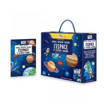 SASSI Junior - Livre et puzzle Voyage, découvre, explore: L'Espace - Dès 6 ans