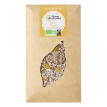 Saveurs Attitudes - Tablette chocolat noir 56% Ananas Coco Pistache 100g