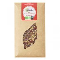 Saveurs Attitudes - Tablette chocolat noir 56% Framboise et Graines 100g