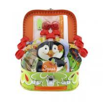 Squiz - Coffret valisette 9 gourdes Jungle + accessoires