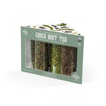 Tea It Yourself - Coffret Thés verts à mélanger Choco menthe