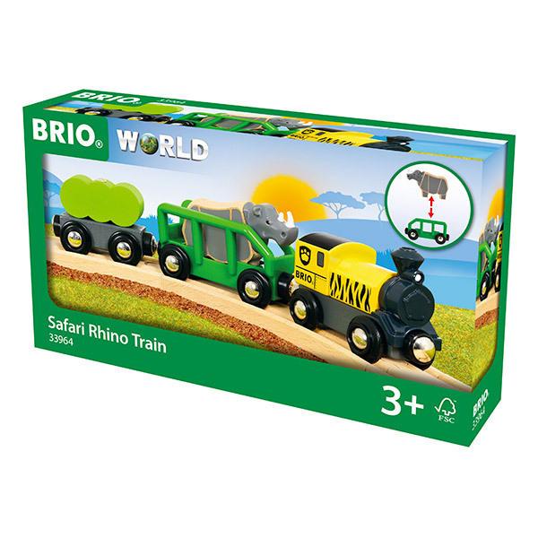 Brio - Train rhino Safari - Des 3 ans