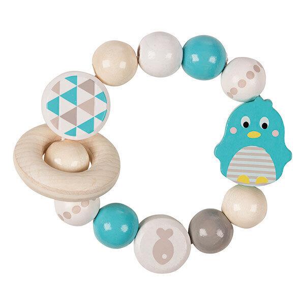Heimess - Hochet flexible Pingouin - des la naissance