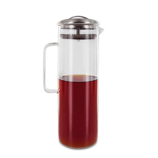 Aromandise - Carafe à thé glacé en verre 1,5L
