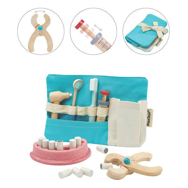 Plan Toys - La Trousse de dentiste - des 36 mois