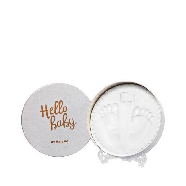 Baby Art - Boîte souvenir empreinte bébé ronde