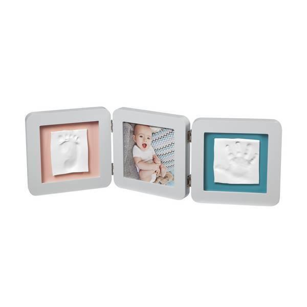 Baby Art - Cadre empreinte et photo bébé double