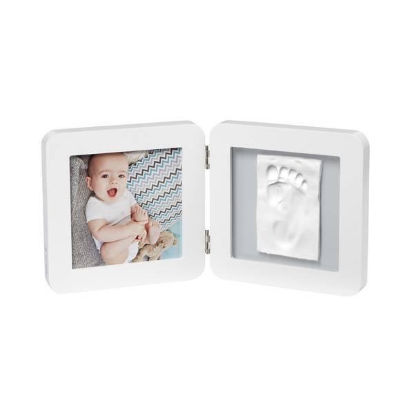 Baby Art - Cadre empreinte et photo bébé blanc